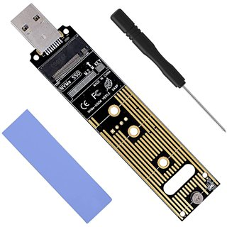 POWERTECH Converter M.2 Key M NVMe σε USB 3.1 Gen 2 TOOL-0045