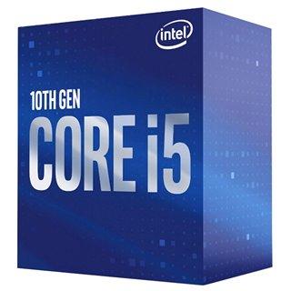 INTEL CPU Core i5-10400, 6 Cores, 2.9GHz, 12MB Cache, LGA1200