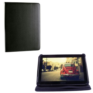 "VOLTE-TEL ΘΗΚΗ TABLET 6.5""-8.4"" UNIVERSAL LEATHER BOOK STAND BLACK"