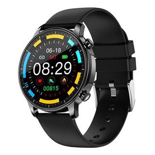 """ΙΝΤΙΜΕ smartwatch V23 Pro, 1.3"""" έγχρωμο, IP67, HR & Blood pressure, μαύρο"""