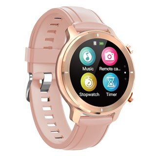 "HIFUTURE smartwatch HiWAVE, 1.3"", IP68, heart rate monitor, ροζ χρυσό"