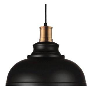POWERTECH φωτιστικό οροφής HLL-0010, E27, μεταλλικό, λευκό-μαύρο