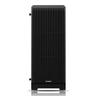 ZALMAN PC case S2 TG, mid tower, 412x189x451mm, 3x fan, διάφανο πλαϊνό