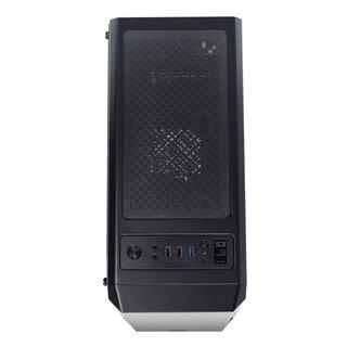 ZALMAN PC case S3 TG, mid tower, 424x196x462mm, 3x fan, διάφανο πλαϊνό