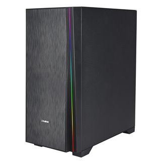 ZALMAN PC case Z3 NEO, mid tower, 410x210x480mm, 2x fan, διάφανο πλαϊνό