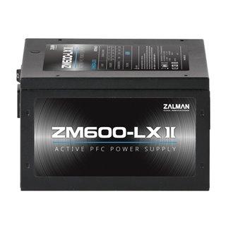 ZALMAN τροφοδοτικό 600W ZM600-LXII, Active PFC, SLI Ready