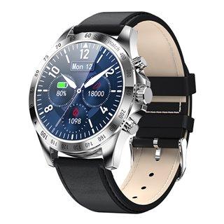 "HIFUTURE smartwatch HiGEAR, 1.3"", IP68, heart rate monitor, ασημί"