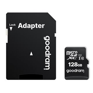 GOODRAM κάρτα μνήμης M1AA microSDΧC UHS-1, 128GB, Class 10