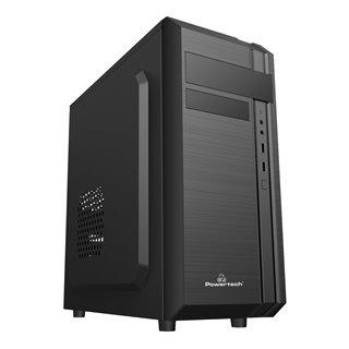 POWERTECH PC Case PT-849, 2x USB 2.0, 1x 80mm fan, με PSU 500W