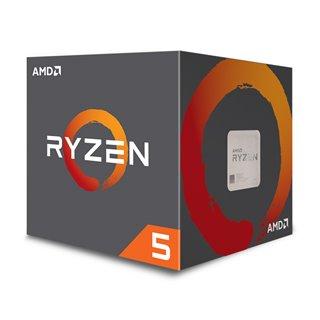 AMD CPU Ryzen 5 2600, 3.4GHz, 6 Cores, AM4, 19MB, Wraith Stealth cooler