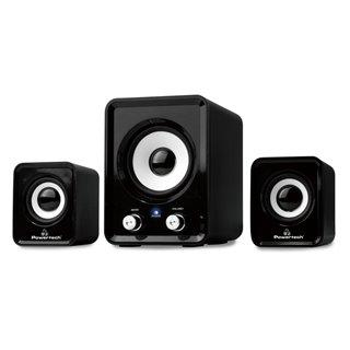 POWERTECH ηχεία Essential sound PT-843, 2.1, 5W + 2x 3W, 3.5mm, μαύρα