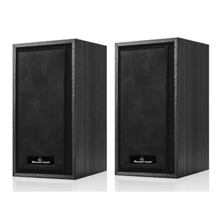 POWERTECH ηχεία Premium sound PT-845, 2x 3W, 3.5mm, μαύρα
