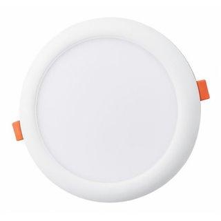 LIPER LED Panel LP-DL18EC01-Y, 18W, χωνευτό, 6500K, Φ22, λευκό, 2τμχ