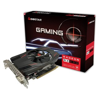 BIOSTAR VGA AMD Radeon RX550 VA5515RF21, GDDR5 2GB, 128bit