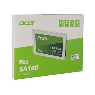 """ACER SSD SA100 480, 2.5"""", SATA III, 560-493MB/s, 3D TLC NAND"""