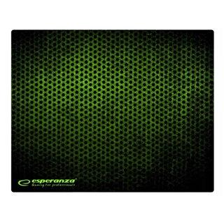 ESPERANZA gaming mouse pad Grunge EA146G, 440x354x4mm, μαύρο-πράσινο