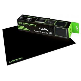 ESPERANZA gaming mouse pad Classic EGP103K, 400x300x3mm, μαύρο