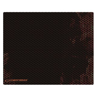 ESPERANZA gaming mouse pad Flame EGP103R, 400x300x3mm, μαύρο-κόκκινο
