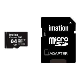 IMATION κάρτα μνήμης MicroSDHC UHS-1, 64GB, Read 45MB/s, Class 10