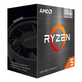 AMD CPU Ryzen 5 5600G, 3.9GHz, 6 Cores, AM4, 19MB, Wraith Stealth cooler