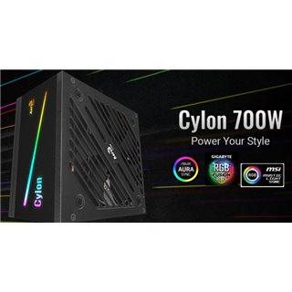 AEROCOOL τροφοδοτικό Cylon 700W CE70AEC, RGB, Active PFC, 80 Plus 230V
