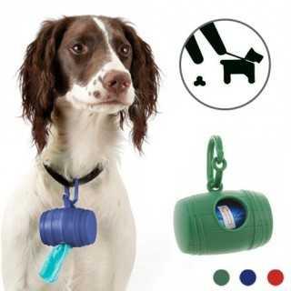 Θήκη για Σακουλάκια Υγιεινής για Σκύλους (με 15 Σακουλάκια)