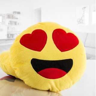 Μαξιλαράκι Emoji με Καρδιές