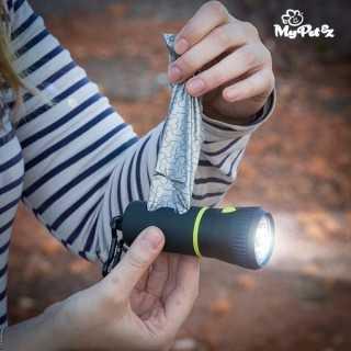 Φακός με Θήκη με Σακούλες για Περιττώματα MyPet Poop Lantern