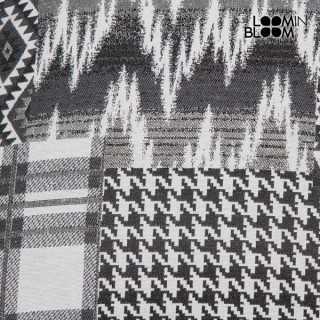 Carla κουρελού μαξιλάρι μαύρο by Loom In Bloom