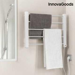 Ηλεκτρική Κρεμάστρα για Πετσέτες Τοίχου InnovaGoods 65W Λευκή Γκρι (5 Μπάρες)
