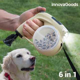Επεκτάσιμο Λουρί για Σκύλους 6 σε 1 InnovaGoods