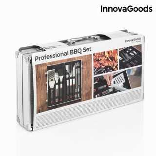 Βαλιτσάκι με Σκεύη για Μπάρμπεκιου Επαγγελματικό InnovaGoods (11 τεμάχια)