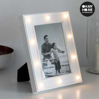 Επιτραπέζια Κορνίζα Φωτογραφιών με LED Oh My Home