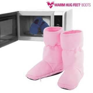 Warm Hug Feet Θερμαινόμενες Παντόφλες Μπότες