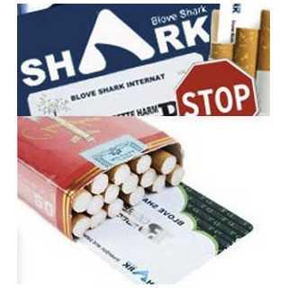 Κάρτα Blove Shark για Μείωση των Παρενεργειών του Καπνίσματος