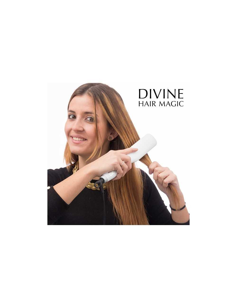 Ηλεκτρική Βούρτσα Ισιώματος Divine Hair Magic 901ad176ac0