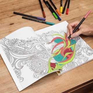 Βιβλίο Ζωγραφικής Κατά του Στρες