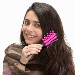 Βούρτσα Μαλλιών Τριπλής Δράσης