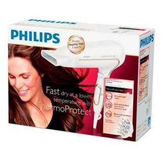 Πιστολάκι Philips HP8232 ThermoProtect Ionic 2200W Λευκό
