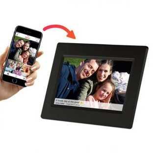 """Ψηφιακή Κορνίζα Denver Electronics PFF-710B 7"""" 8 GB WIFI Μαύρο"""