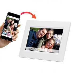 """Ψηφιακή Κορνίζα Denver Electronics PFF-710B 7"""" 8 GB WIFI Λευκό"""