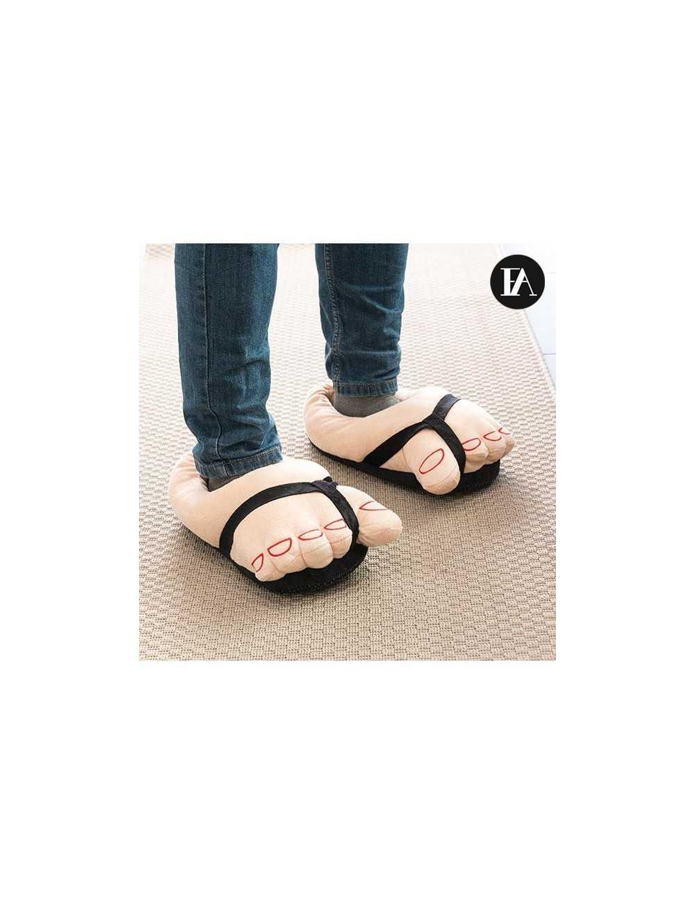 Περπατήστε στο σπίτι σας φορώντας τα πρωτότυπα και διασκεδαστικά μαλακά  πέδιλα Fashinalizer! Παντόφλες σπιτιού. ce3f2dc0e98