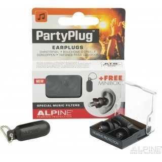 ALPINE PartyPlug™ ωτοασπίδες για μουσική, Μαύρες 111.21.652
