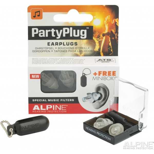 ALPINE PartyPlug™ ωτοασπίδες για μουσική, Διάφανες