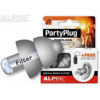 ALPINE PartyPlug™ ωτοασπίδες για μουσική, Γκρι 111.21.651