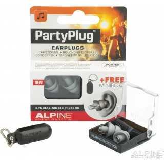 ALPINE PartyPlug™ ωτοασπίδες για μουσική, Γκρι