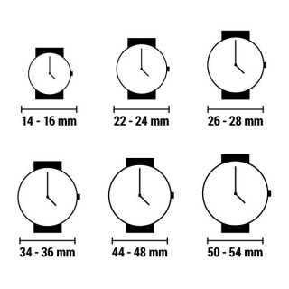 Bordklokke Rhythm NO-4RG832 (24,5 x 18,5 cm)