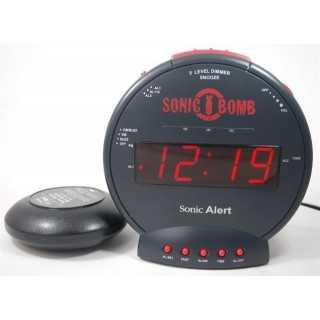 Geemarc SONIC BOMB Ρολόι Ξυπνητήρι με Δόνηση και Λάμψη SBB500SS