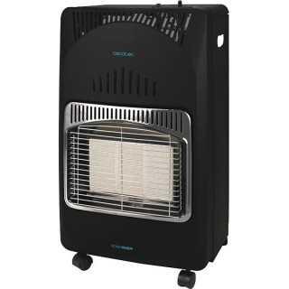 Θερμάστρα Αερίου Cecotec Ready Warm 4000 Slim Fold 4200W Μαύρο
