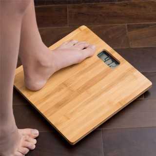 Ψηφιακή Ζυγαριά Μπάνιου Από Μπαμπού 180 kg